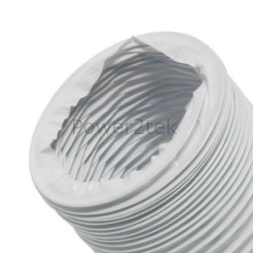 """x 4 m pour HOTPOINT TS11P TS11W TS12A Sèche-linge 4/"""" Tuyau d/'10 cm"""