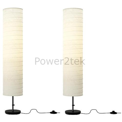 2 x ikea holmo stylish living room floor lamp light rice paper soft 2 x ikea holmo stylish living room floor lamp light rice paper soft mood light aloadofball Images